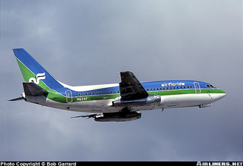 Photo of Air Florida, Boeing Model 737